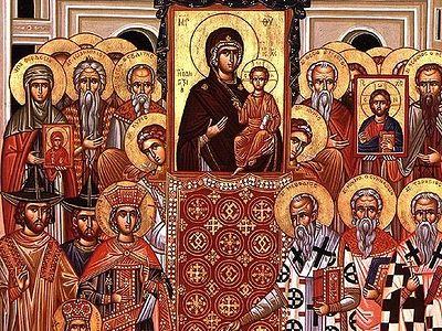 Sermon – Sunday of the 7th Ecumenical Council