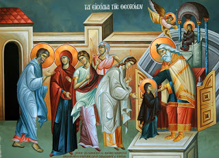 Sermon – Entry of the Mother of God