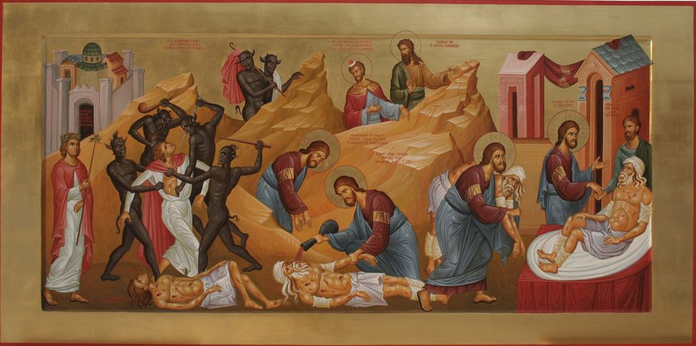 Sermon – 8th Sunday of Luke (Good Samaritan)