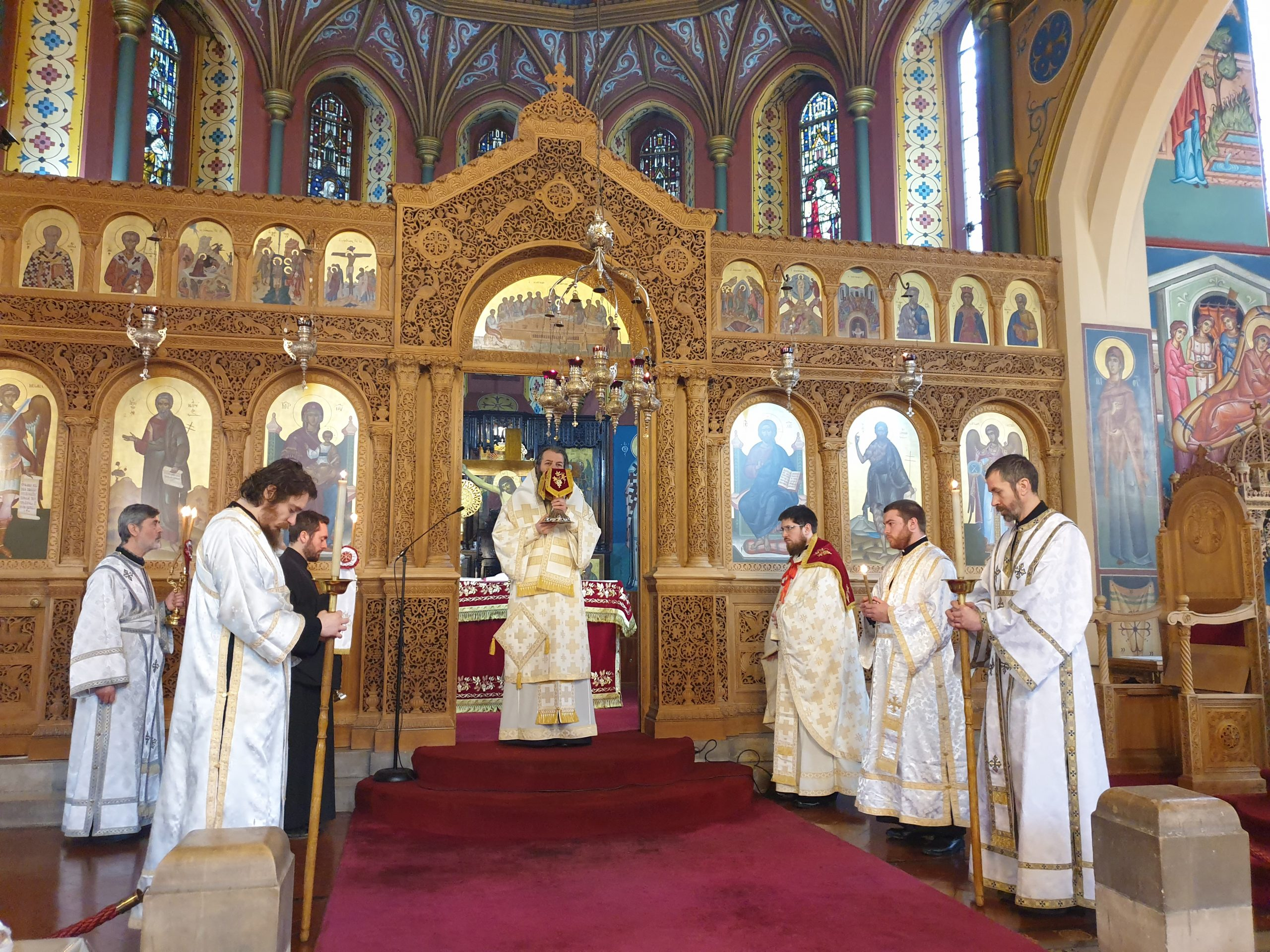 Visit of H.G. Bishop Raphael of Ilion