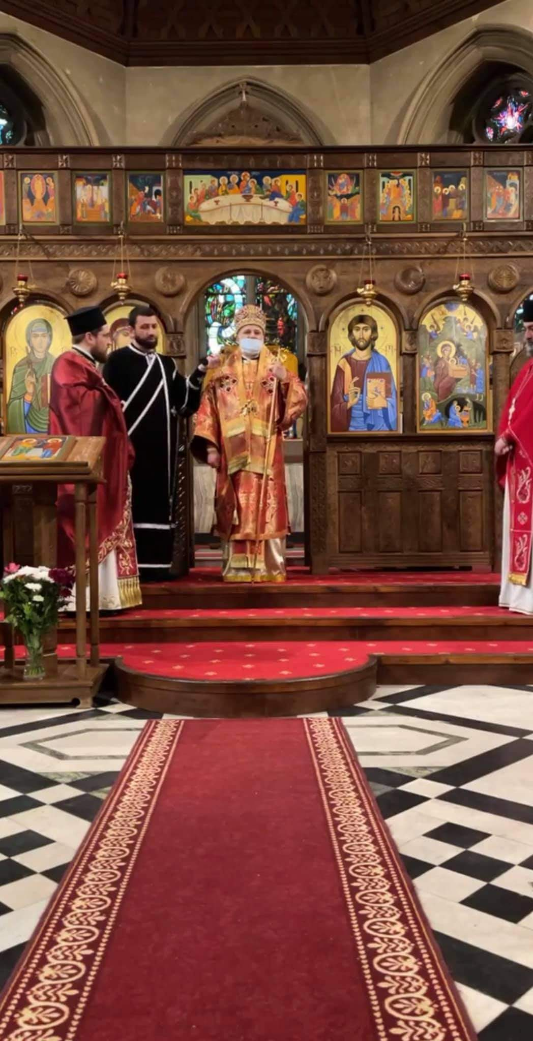Annunciation Liturgy at the Georgian Orthodox Cathedral in London
